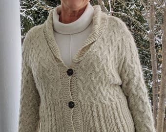 """Fusion Cabled Sweater  """"SALE"""""""