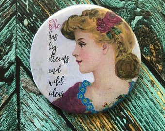 Big Dreams Purse Mirror