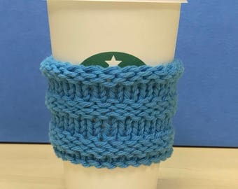 Knitted Coffee Cup Cozy Sleeve - Grande