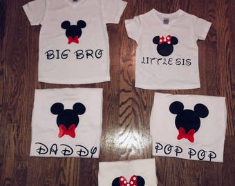 Disney T-Shirts for the whole family