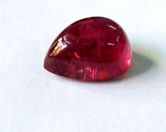 Top Quality of Natural Gemstone Rubielite  Tourmaline 19.25 Carat Pear Shape Size 18X14x9