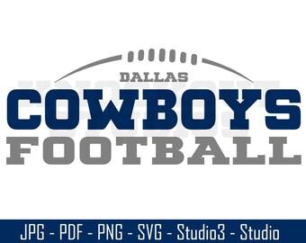 Cowboys SVG, Cowboys Footballl, Dallas, Cowboys Decal - Cut Files - SVG, PNG, Studio - Silhouette, Cricut and More - CS157