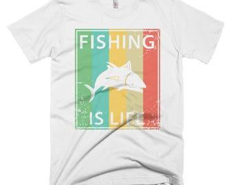 Fishing Is Life Short-Sleeve T-Shirt