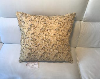 Pillow with Pearls