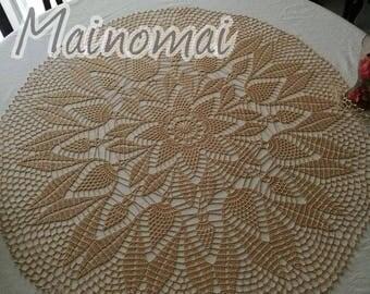 Centerpiece handmade crochet
