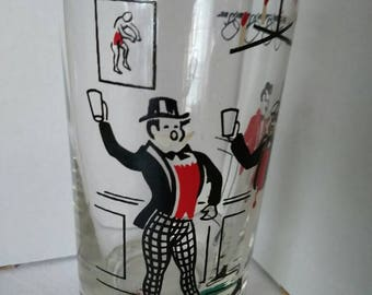 1960's set of Libbey barware glasses.