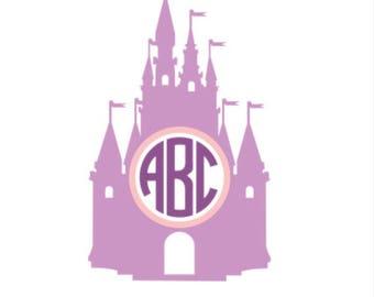 Cinderella Castle Monogram