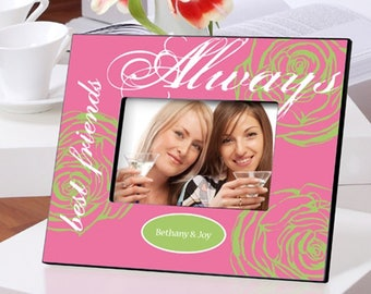 Personalized Forever Friends Friendship Frames - Friendship Photo Frames - Friend Picture Frames - Best Friends Photo Frames - Friend Gifts