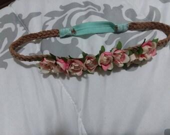 Foral headband
