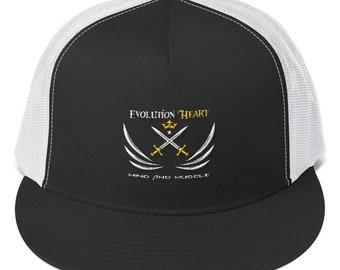 EvolutionHeart Trucker Cap