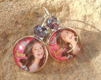 Earrings sleeper Soy Luna collection
