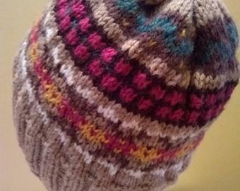 Fair-isle Hat