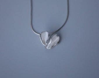 Double Petal Pendant (small)