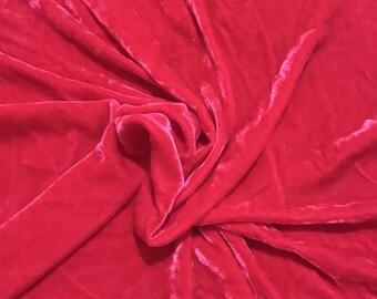 Luxury Silk Velvet Fabric
