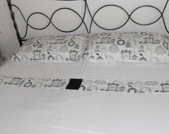 Vintage White Linens Set