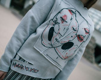 FreakYourself hoodie | Arikha | Wearyourself | Wearable art |