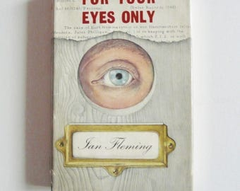 For Your Eyes Only by Ian Fleming First Edition 1960 James Bond