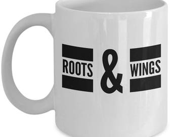 Roots and Wings Coffee Mug - Roots & Wings