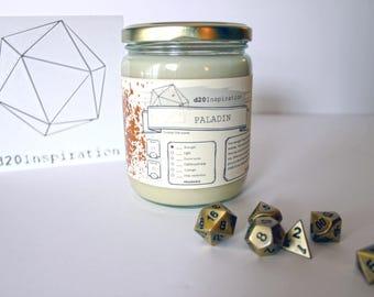Paladin Jar Candle