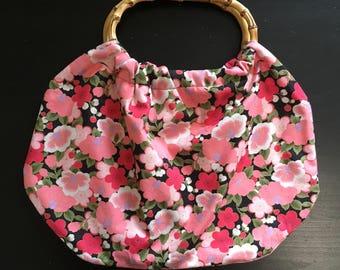 Japanes tote bag (flower)