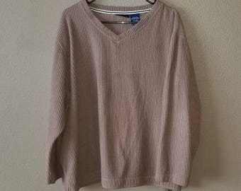Catalina Tan Pullover Knit Sweater.