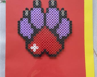 Paw Heart Card
