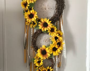 Sunflower Dream Catcher