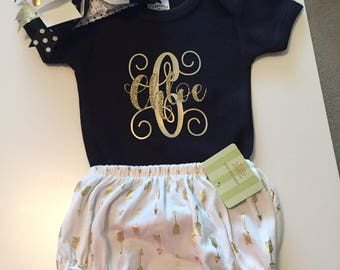 Monogram outfit