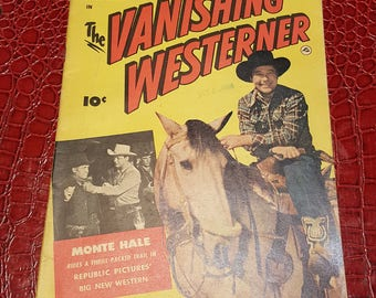 1950 Motion  Picture Comics #101 Vanishing  WESTERNER Fine 1950 FAWCETT* Fine condition