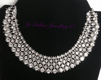 Beautiful crystal necklace