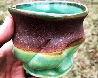 One-of-kind Stoneware Cup