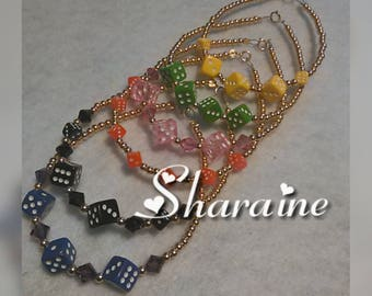 Single Dice Bracelet (1)