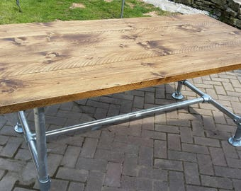 Wooden Reclaimed Scaffold Table