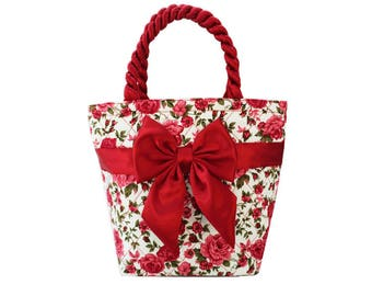 Holiday Rosey Bow Bag