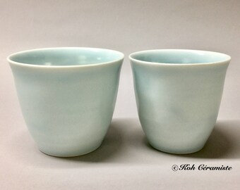 Cup porcelain Celadon (large)