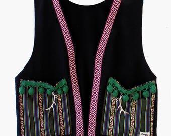 Boho Waistcoat Black Edition REF 00:02