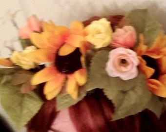 Sunrise Flower Crown