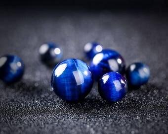 10PCS Natural Round Beads