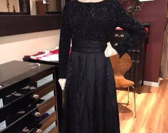 Vintage Holiday Party Gown