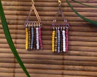 "Earrings ""Colors Tribe"""