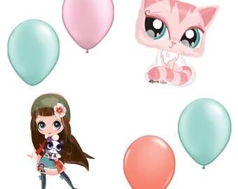 Littlest Pet Shop Balloon Party Pack