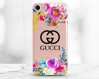 Gucci phone case Gucci iPhone 7 case Gucci iPhone X case floral Gucci iPhone 7 plus case clear iPhone 6 case Gucci logo iphone 8 case floral