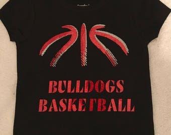 Customed Kids Basketball Tshirt
