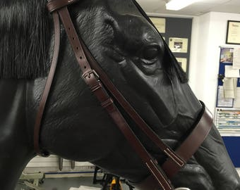 Pony Bridle with reins and running martingale