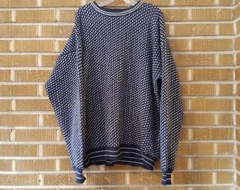 80s/90s oversized grandpa sweater