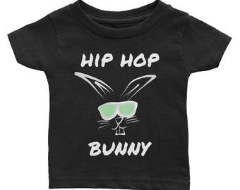 First Easter, Toddler Tee, hipster bunny, Toddler easter, Baby shower gift, Easter gift