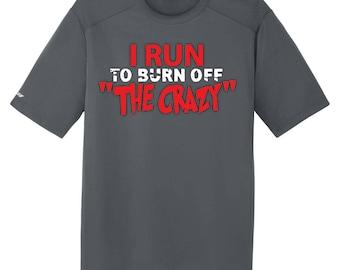 Gym Clothing Burn Off The Crazy