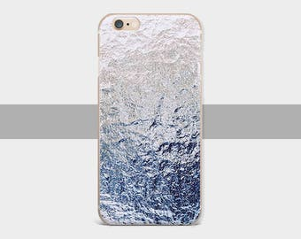 Blue metal iPhone case  iPhone 6 case iPhone case iPhone 7 case Blue metal iPhone 8 case iPhone 5s case for Blue Samsung Galaxy S4 case