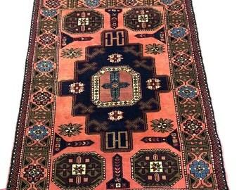 "Ardabil Oriental Persian Rug 3'7""X4'11"" 000040"