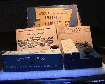 Western Union Telegraph Signal Set